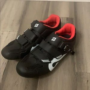 Peloton Shoes with Cleats